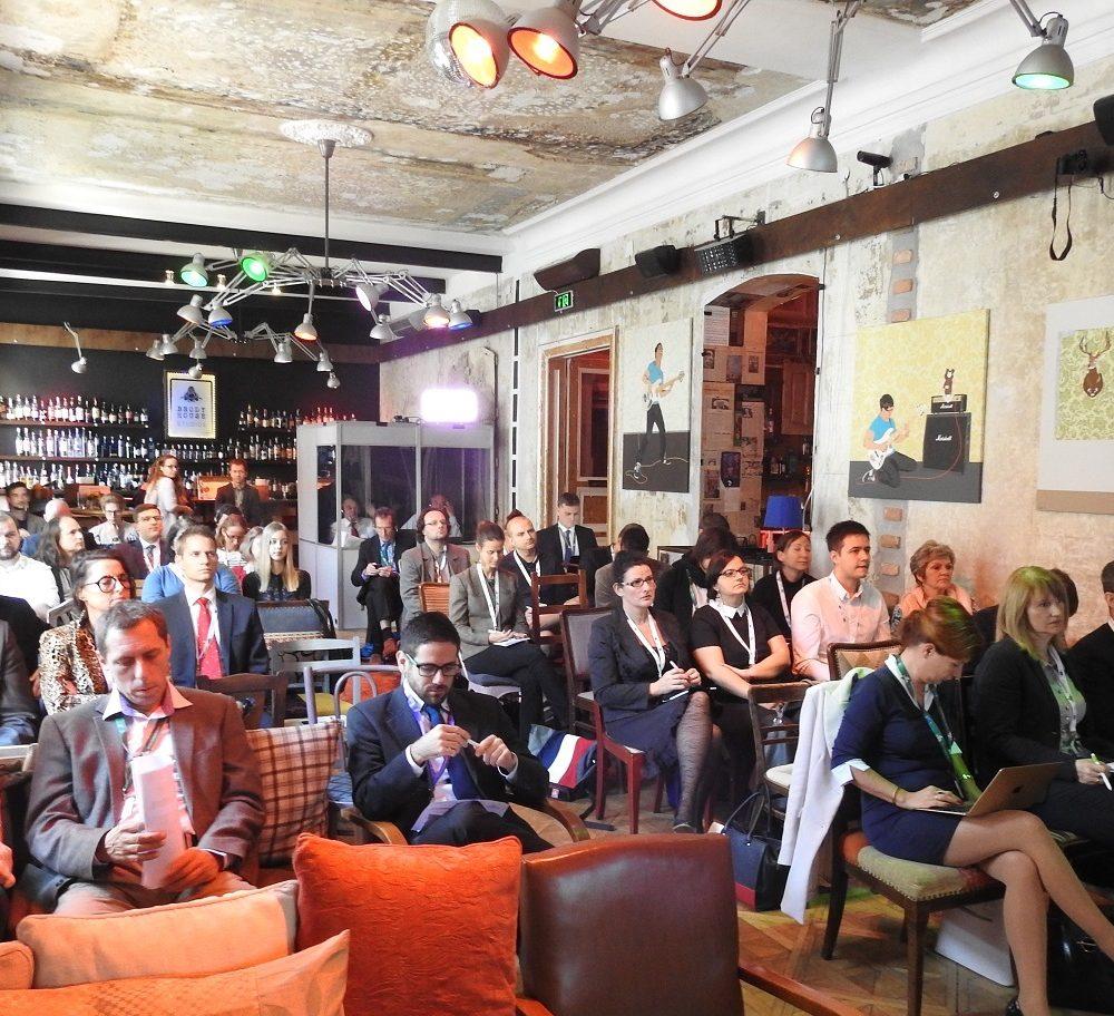 Iván Tosics moderates Urban Development Network workshop in Budapest