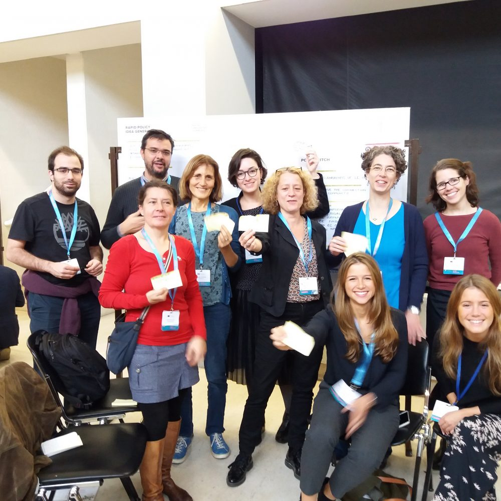 """Colleagues of MRI at the """"Opening up to an ERA of Social Innovation"""" Conference in Lisbon"""
