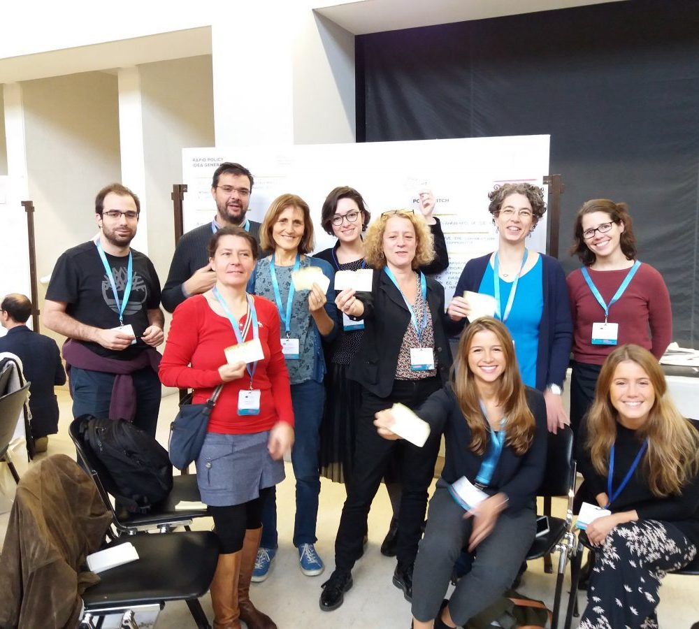 "Colleagues of MRI at the ""Opening up to an ERA of Social Innovation"" Conference in Lisbon"
