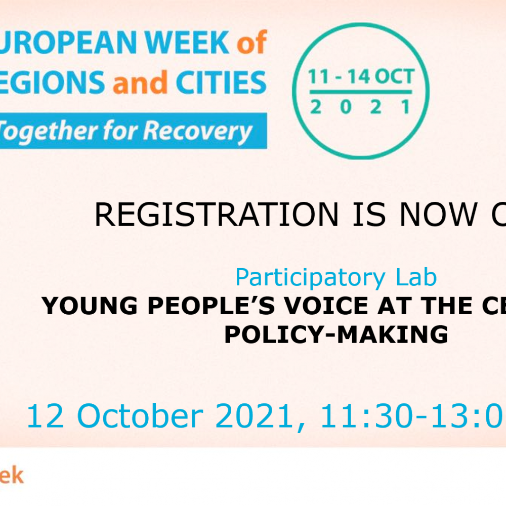 UPLIFT presents at the European Week of Cities and Regions