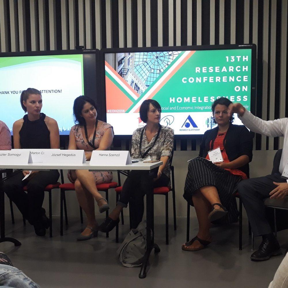 FEANTSA kutatói konferencia Budapesten (2018)