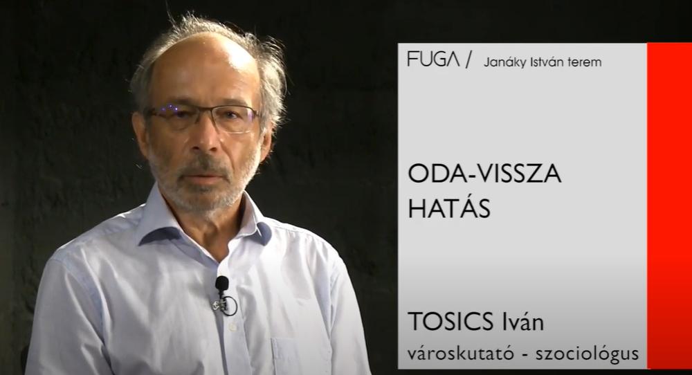 Tosics Iván előadása a FUGA mikrokozmosz sorozatában
